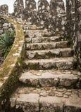 Αρχαία πέτρινα βήματα Στοκ Εικόνες
