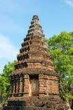 Αρχαία παγόδα σε Sukhothai, Ταϊλάνδη στοκ εικόνα