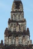 Αρχαία παγόδα σε Wat Jamadhev Στοκ Εικόνες