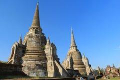 Αρχαία παγόδα στον ταϊλανδικό ναό Στοκ Εικόνες