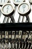 αρχαία παλαιά γραφομηχανή Στοκ Εικόνα