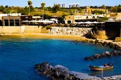 Αρχαία παραλία της Καισάρειας στοκ φωτογραφία