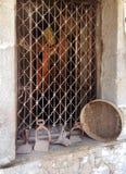 Αρχαία παλαιά κουζίνα στοκ φωτογραφία
