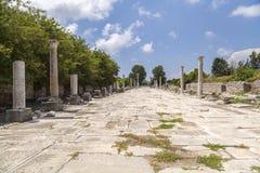 Αρχαία περιοχή Ephesus, Τουρκία Στοκ Φωτογραφίες