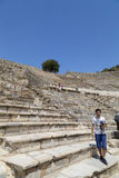Αρχαία περιοχή Ephesus, Τουρκία Στοκ Φωτογραφία