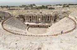 Αρχαία περιοχή Hierapolis, Τουρκία Στοκ Φωτογραφία
