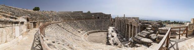 Αρχαία περιοχή Hierapolis, Τουρκία Στοκ φωτογραφία με δικαίωμα ελεύθερης χρήσης
