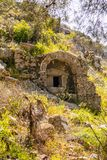 Αρχαία περιοχή Olympos, Antalya, Τουρκία στοκ φωτογραφίες