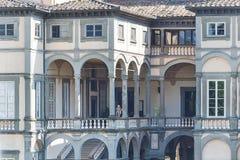 Αρχαία περιτοιχισμένη πόλη Lucca Στοκ Φωτογραφία