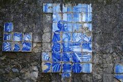 Αρχαία πορτογαλικά κεραμίδια Στοκ Εικόνα