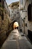 Αρχαία πόλη της Ιερουσαλήμ Στοκ φωτογραφία με δικαίωμα ελεύθερης χρήσης