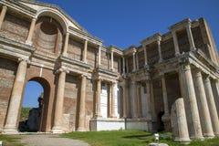 Αρχαία πόλη της Lydia Sardes σε Salihli, Manisa, Τουρκία στοκ εικόνες
