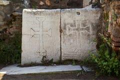 Αρχαία πόλη της Lydia Sardes σε Salihli, Manisa, Τουρκία στοκ εικόνες με δικαίωμα ελεύθερης χρήσης