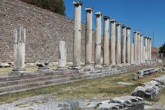 Αρχαία πόλη Asclepeion στην Πέργαμο, Τουρκία. Στοκ εικόνες με δικαίωμα ελεύθερης χρήσης