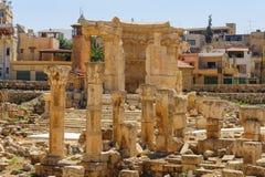 Αρχαία πόλη Baalbek στο Λίβανο Στοκ φωτογραφίες με δικαίωμα ελεύθερης χρήσης