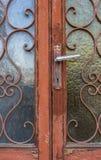 αρχαία πόρτα στοκ εικόνες με δικαίωμα ελεύθερης χρήσης