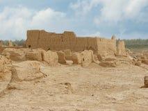 Αρχαία πόλη καταστροφών Jiaohe στην Κίνα Στοκ εικόνα με δικαίωμα ελεύθερης χρήσης