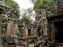 Αρχαία πόλη ναών Wat Ankgor Στοκ Εικόνα