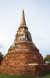 Αρχαία πόλη στην επαρχία Ayutthaya, Ταϊλάνδη Στοκ φωτογραφίες με δικαίωμα ελεύθερης χρήσης