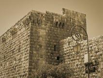 Αρχαία πόλη της Δαμασκού Στοκ φωτογραφία με δικαίωμα ελεύθερης χρήσης