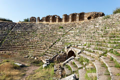Αρχαία πόλη Aphrodisias, μουσείο Aphrodisias, Ayd; ν, αιγαία περιοχή, της Τουρκίας - 9 Ιουλίου 2016 Στοκ εικόνα με δικαίωμα ελεύθερης χρήσης
