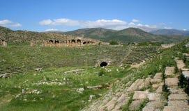 Αρχαία πόλη Aphrodisias Στοκ Φωτογραφίες