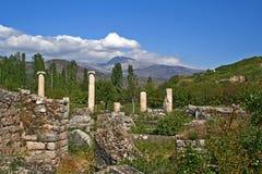 Αρχαία πόλη Aphrodisias Στοκ φωτογραφία με δικαίωμα ελεύθερης χρήσης