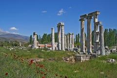 Αρχαία πόλη Aphrodisias Στοκ εικόνα με δικαίωμα ελεύθερης χρήσης