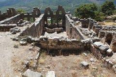 Αρχαία πόλη Arycanda σε Antalya, Τουρκία. Στοκ φωτογραφία με δικαίωμα ελεύθερης χρήσης