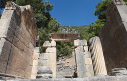 Αρχαία πόλη Arycanda σε Antalya, Τουρκία. Στοκ Εικόνα