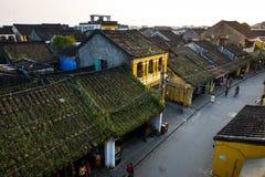 Αρχαία πόλη Hoian από το highview Στοκ Φωτογραφίες
