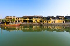 Αρχαία πόλη Hoian στο Βιετνάμ Στοκ Εικόνες