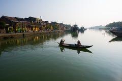 Αρχαία πόλη Hoian στο Βιετνάμ Στοκ Φωτογραφία