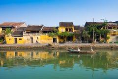 Αρχαία πόλη Hoian στο Βιετνάμ Στοκ φωτογραφίες με δικαίωμα ελεύθερης χρήσης