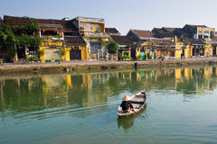Αρχαία πόλη Hoian στο Βιετνάμ Στοκ φωτογραφία με δικαίωμα ελεύθερης χρήσης