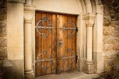 Αρχαία πύλη με την ατμόσφαιρα παραμυθιού Στοκ φωτογραφία με δικαίωμα ελεύθερης χρήσης