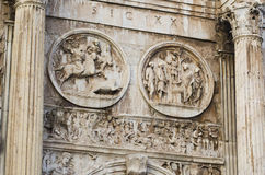 Αρχαία ρωμαϊκά γλυπτά Στοκ Εικόνες