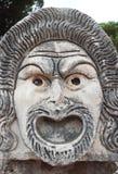 Αρχαία ρωμαϊκή μάσκα Στοκ εικόνα με δικαίωμα ελεύθερης χρήσης