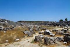 αρχαία ρωμαϊκή περιοχή Του& Στοκ εικόνες με δικαίωμα ελεύθερης χρήσης