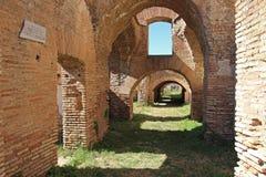 Αρχαία ρωμαϊκή πόλη Antica Ostia Στοκ Εικόνες