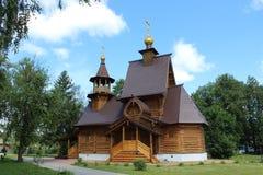 Αρχαία ρωσική εκκλησία Στοκ Φωτογραφία