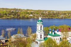 Αρχαία ρωσική πόλη Ples Ρωσία Στοκ Εικόνες