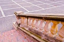 αρχαία σκάλα τεμαχίων Στοκ φωτογραφία με δικαίωμα ελεύθερης χρήσης