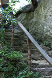 Αρχαία σκάλα Στοκ Εικόνα