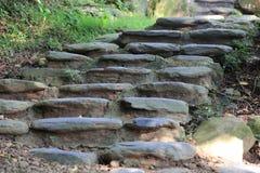 Αρχαία σκαλοπάτια Στοκ Φωτογραφίες