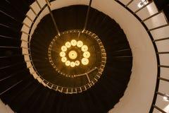 αρχαία σπειροειδής σκάλα Στοκ εικόνα με δικαίωμα ελεύθερης χρήσης