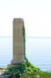 αρχαία στήλη ελληνικά Στοκ φωτογραφία με δικαίωμα ελεύθερης χρήσης