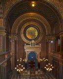 Αρχαία συναγωγή κιβωτών στην Πράγα Στοκ φωτογραφία με δικαίωμα ελεύθερης χρήσης