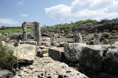 Αρχαία συναγωγή Arbel Στοκ Φωτογραφία
