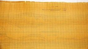 Αρχαία σχέδια σε κλίμακα-ισότιμο χαρτί φιλμ μικρού μήκους
